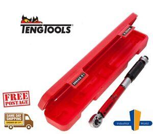 "Teng Tools Torque Wrench 3/8"" Drive  5-25Nm / 4-18 ft/lb- 3892AG-E1"