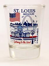 ST.LOUIS MISSOURI GREAT AMERICAN CITIES COLLECTION SHOT GLASS SHOTGLASS