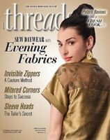 Threads Sewing Magazine Issue 210 August September 2020