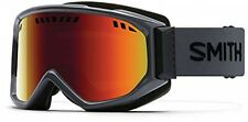 Smith Goggles Scope Pro Red Sol-X SP AF Lens Goggles - Charcoal UK POST FREE