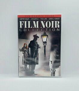 FILM NOIR COLLECTION DVD 10 Classic Films On 2 Discs Shout Factory