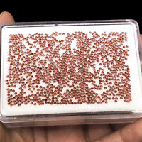 1000 Pcs 1.5mm Natural Rhodolite Garnet Diamond Cut Top Quality Loose Gemstones