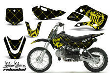Decal Graphic Kit Wrap For Kawasaki KLX 110 2002-2009 KX 65 2002-2018 RELOAD Y K