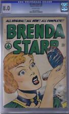 Brenda Starr #8 Superior Pub 1949 CANADIAN EDITION, CGC 8.0 (VERY FINE)