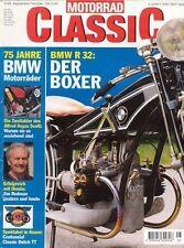 MC9805 + BMW R 32 + HONDA CB 100 + SCOTT-Motorräder + MOTORRAD CLASSIC 5 1998
