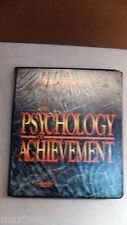 """""""The Psychology of Achievement"""" by Brian Tracy, 6 cassettes, Guide,retail binder"""
