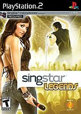 SINGSTAR LEGENDS SONY PLAYSTATIONS PS2 BRAND NEW GAME FAST/FREE SHIPPING