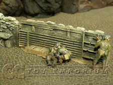 """""""RETIRED"""" Build-a-Rama 1:32 Hand Painted WWII High Trench Wall"""