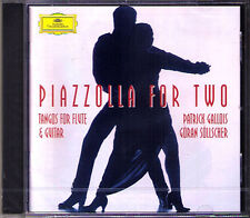 PIAZZOLLA FOR TWO Patrick GALLOIS & Göran SÖLLSCHER CD Goran Sollscher Tango