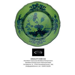 Richard Ginori Oriente Italiano Malachite Tableware 36 Piece 12 traffickers