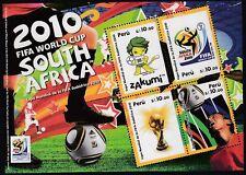 Perú Hojita block 57 2010 Copa Mundial de la FIFA Sudáfrica 2010 fútbol football