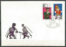 Germany (East) DDR GDR 1984 FDC Art Theatre String and Hand Puppets