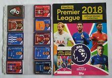 TOPPS Premier League 2018  Full Set / Empty Album  Brazil Edition + 1x Packet