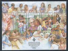 Canada UN International Year of the Family #1523 Souvenir Sheet MNH