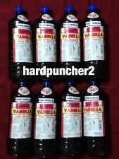 8 Bottles Danncy Mexican Vanilla (8 Dark) One Liter Bottles