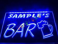 Personalized LED Neon Bar Sign Home Light Up Drink Pub personalised custom name