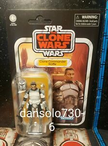 Star Wars Vintage Collection CLONE COMMANDER WOLFFE VC168