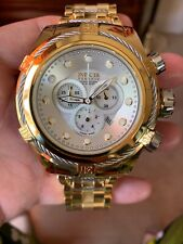 Invicta Bolt Zeus 53MM Mother Of Pearl Stainless Steel Mens Watch Mo 12757