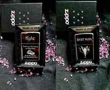 Diseño Hot Zippo Personalizado para Boda Regalo Único Usher/Mejor Hombre Etc -