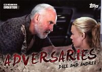 Walking Dead Evolution ADVERSARIES Insert Card AD-9 / DALE AND ANDREA