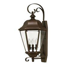 Hinkley Clifton Park 3 Light Outdoor Lg Wall Mount, Copper Bronze - 2428CB