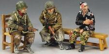 KING & COUNTRY BATTLE OF THE BULGE BBA036 U.S. TRUCK PASSENGERS MIB