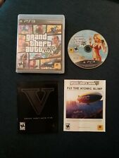 New listing Grand Theft Auto V (Sony PlayStation 3 Ps3, 2013) Black Label with Manual Gta 5