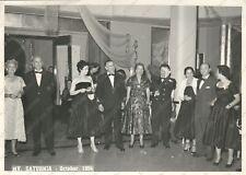1954 Nave Transatlantico MV SATURNIA Sala da ballo Fotografia