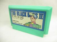 Famicom THE BLACK BASS II 2 Cartridge Only NINTENDO fc