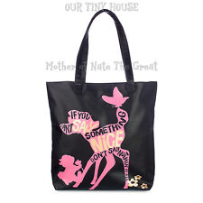 Bambi and Thumper Tote Bag Oh My Disney Store Large Lined Shoulder Bag NEW W/TAG