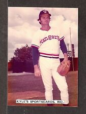 Jackie Brown Rangers Unsigned 3-1/2 x 4-15/16 Color Original Snapshot Photo #3