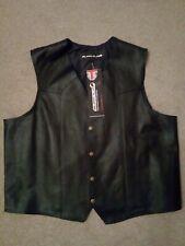 Leather  Biker Waistcoat /Vest /Cutoff
