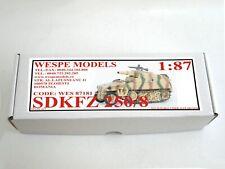 NEW 2019 !! SDKFZ 250/8 Wespe Models 1:87 military resin model  resin kit 87181