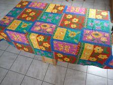 Schnittdecke Tischdecke Baumwolle abwaschbar 140x140cm bunt OOOOFF