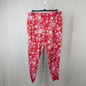 Family PJs Men's Snowflake Print Christmas Pajama Pants - XL #7668