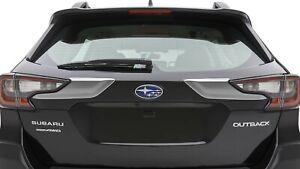 2020 Subaru Outback Chrome Rear Tailgate Trim Moulding SET OF 2 NEW J3110AN020