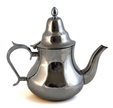 Moroccan Serving Tea Pot Stainless Steel X Large Size