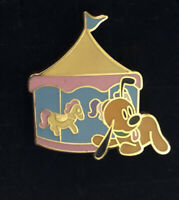 Pluto Carousel Disney Pin WDW Past Attractions