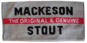 Mackeson Stout Cotton Bar Towel 500mm x 230mm  (pwm)