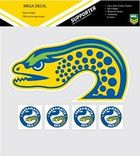 **NEW** NRL Parramatta Eels iTag Mega & Mini Decal Stickers Set