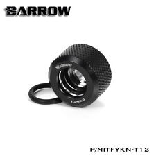 Barrow 'Choice' Hard Tube Compression Fitting for 12mm  Tubing - black - 240