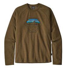 Patagonia Men's Fitz Roy Hex LW Crew Sweatshirt XXL Slim Fit Organic Cotton NWT
