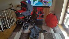 TOP!!! EMMALJUNGA Edge Duo Thermo Press-System Kombi Kinderwagen mit Zubehör