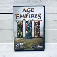 Age of Empires 3 by Ensemble Studios PC CD-ROM Software Video Game