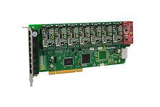 OpenVox A800P71 8 Port Analog PCI Base Card + 7 FXS + 1 FXO, Ethernet (RJ45)