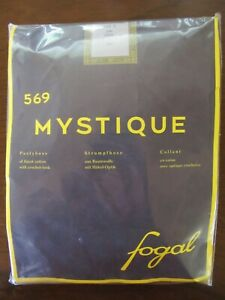Fogal Mystique 569 Pantyhose with Crochet Look, Brasil (Brown), Size Small