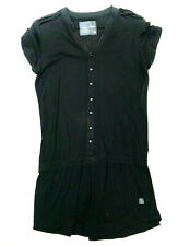 Womens G-Star Dress 'SHIRT DRESS WMN 1/2 SL' Black Cotton Size L