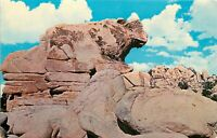 Chrome Postcard CA J088 The Ox Joshua Tree National Monument Rock Formation