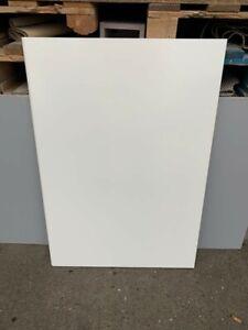 B&Q Cream  Gloss Slab 600x715mm Wide  APP Base Unit Door PACK i