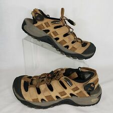 Merrell Size 8 Saugatuck Men's Trail Sandals Kangaroo Brown Sport J87845 Comfort